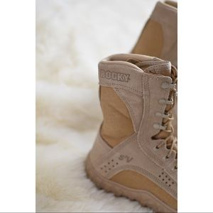 Rocky Shoes - Rocky S2V  Special Ops Vented Military Boots 6.5